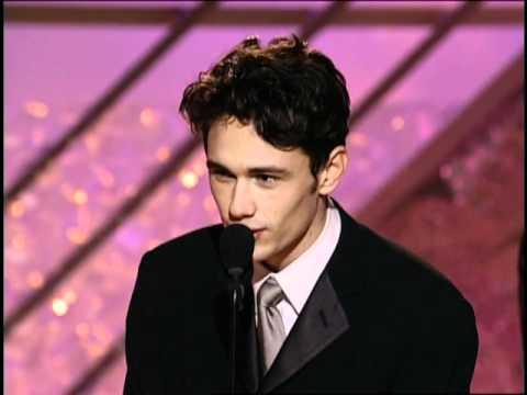 James Franco Wins Best Actor TV Movie  Golden Globes 2002