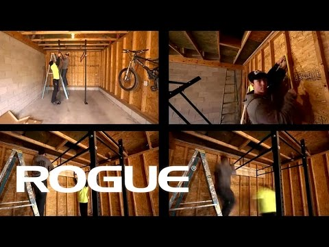 Rogue fitness garage gym courtesy of will davis facebook