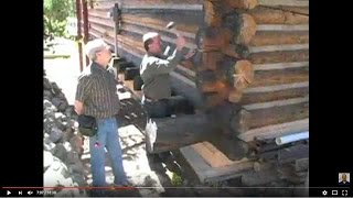Inspecting a Log Home in Colorado