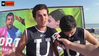 🎥 Beach Rugby | Pedro Anahory e António Vieira - CDUL Rugby