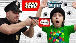 ОХОТА на ПРЕСТУПНИКА из LEGO? Вся ПРАВДА Полицейского РАСКРЫТА! Для детей kids children