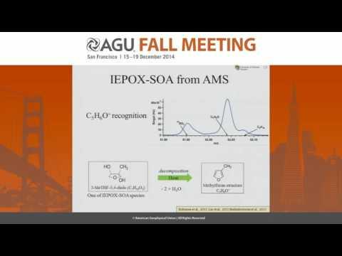 Isoprene Epoxydiols Derived Secondary Organic Aerosol (IEPOX-SOA): Insights from Aerosol Mass...