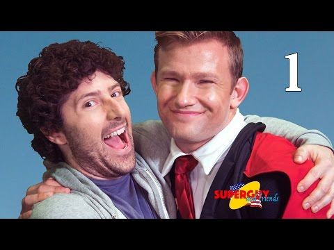 "Superguy and Friends - Part 1 - ""POW"" - Goldentusk Web Series"