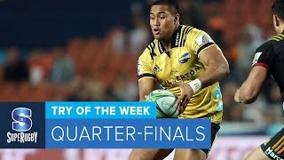 TRY OF THE WEEK: 2018 Super Rugby Quarter-Finals