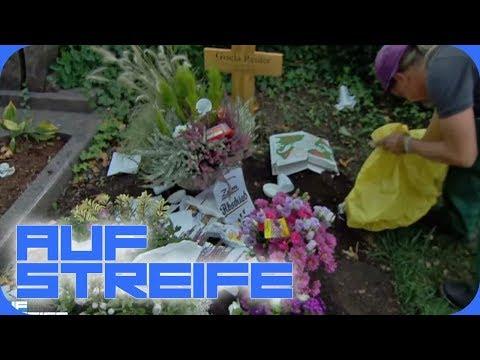 Müll auf dem Grab: Wer verschandet den Friedhof? | Auf Streife | SAT.1
