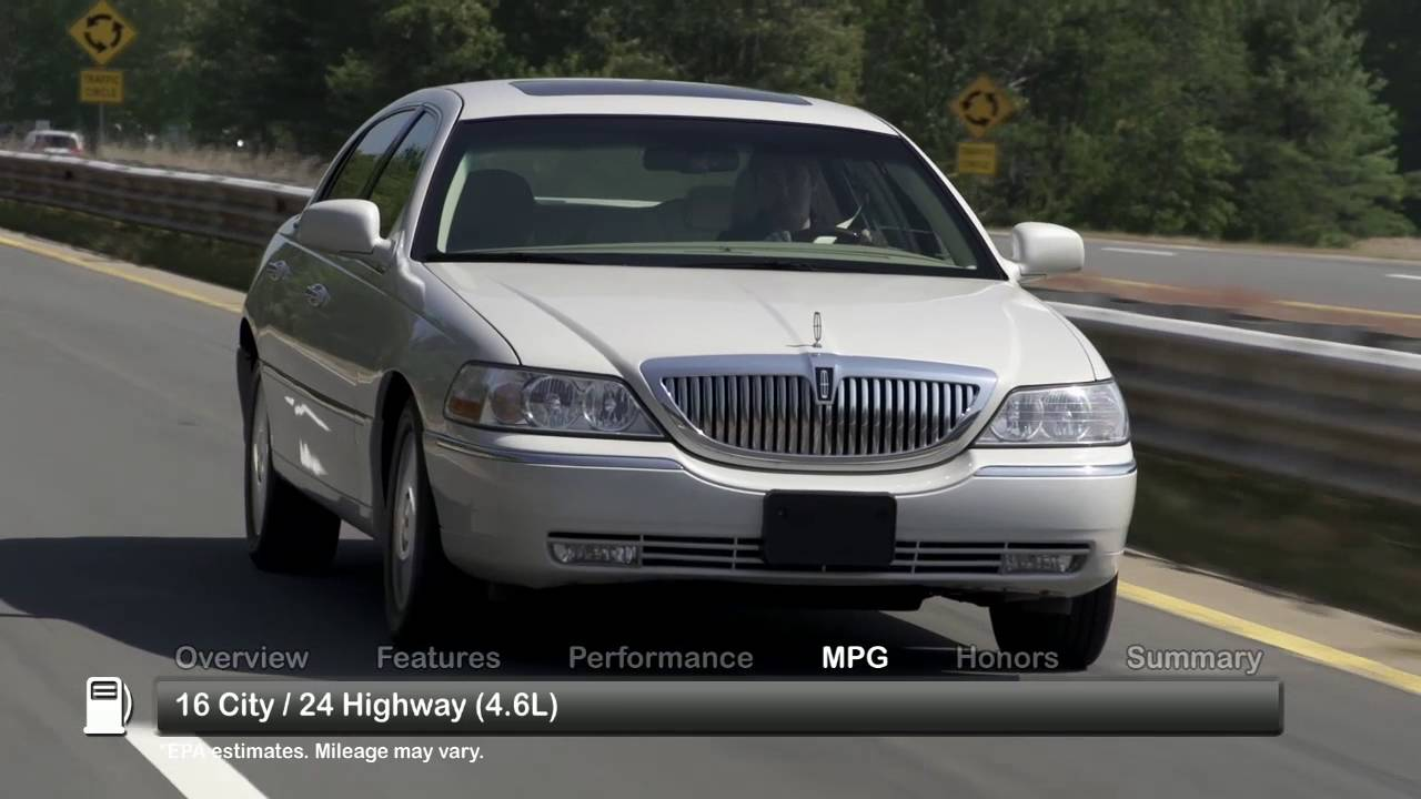 2009 Lincoln Town Car Used Car Report Youtube