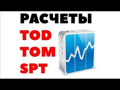 TOD, TOM, SPT на валютной бирже. Расчеты Т+0, T+1, Т+2