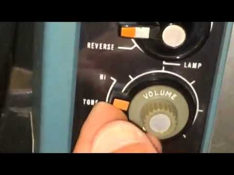 My Demonstration of My Bell & Howell Filmosound Specialist 552 16mm Projector