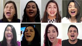O Cordeiro e o Leão - versão cover Ministério de Louvor Melodia