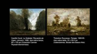 Jean-Baptiste-Camille Corot. La Soledad. Recuerdo de Vigen, Lemosín