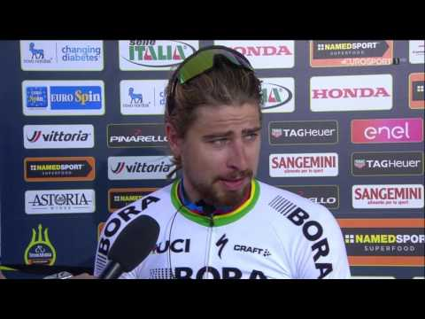 Tirreno Adriatico 2017 - Stage 3 - post race interview Peter Sagan