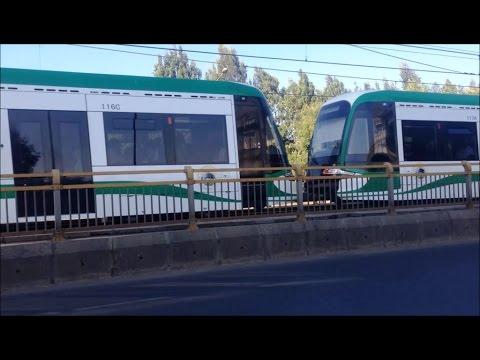 Addis Ababa light rail / tram compilations