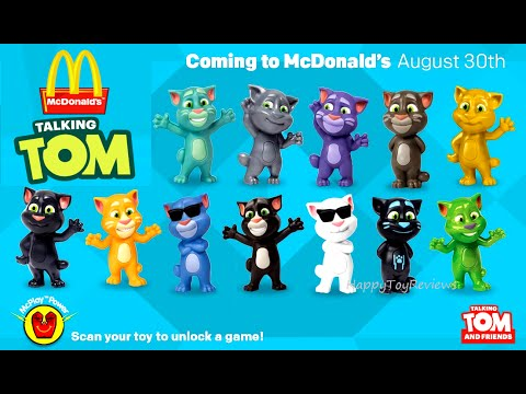 2016 Talking Tom Mcdonald S Us Happy Meal Toys After Recalled Step