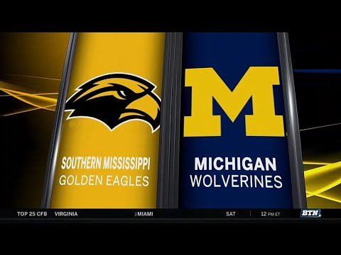 Southern Mississippi at Michigan - Men