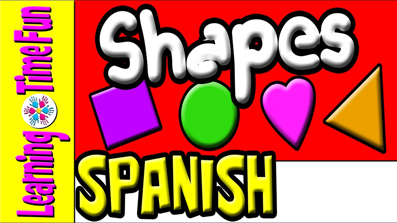 Spanish Shapes | Spanish for Kids | Preschool Spanish