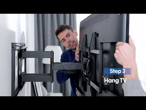 Mounting Dream Full Motion TV Wall Mount For 42-75 Inch TVs MD2298