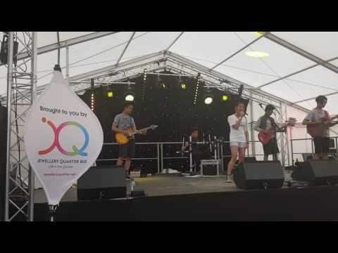 Birmingham Music School- Yamaha Music Point students at the Jewellery Quarter Festival- Birmingham