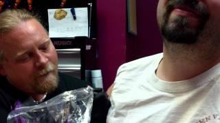 Tattoo Virgin gets first Tattoo in Pigeon Forge, TN