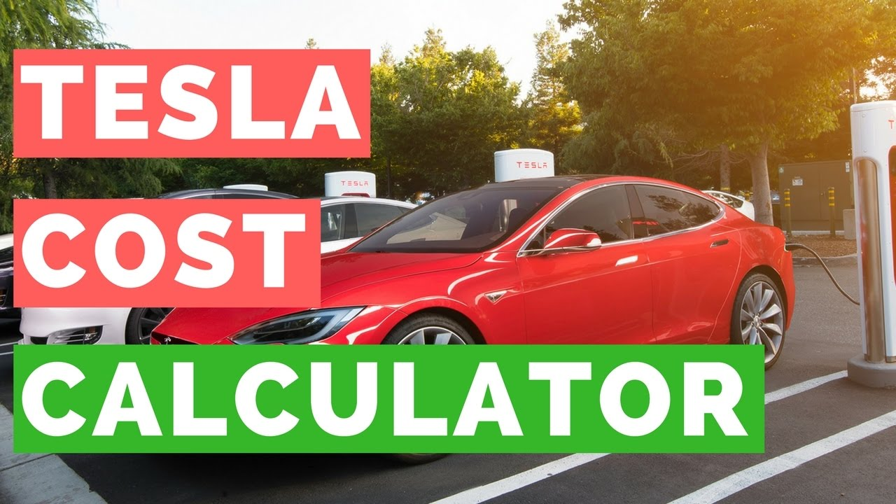 What Does Charging A Tesla Cost Model S X And 3 Calculator