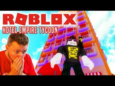 NYT KÆMPE HOTEL! - Roblox Hotel Empire Tycoon Dansk Ep 3