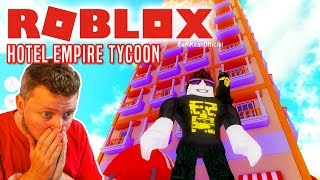 NYT KÆMPE HOTEL! - Roblox Hotel Empire Tycoon Dansk Ep 3