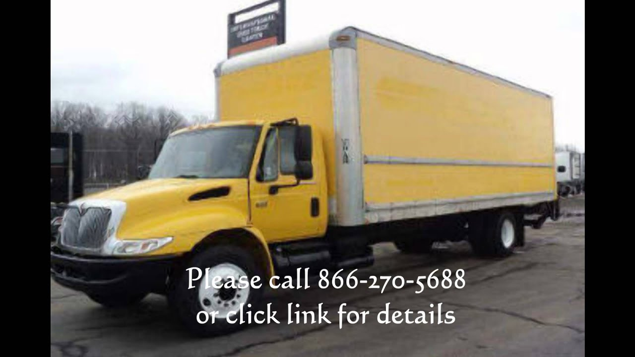 Used Penske Box Truck For Sale In Ohio Youtube