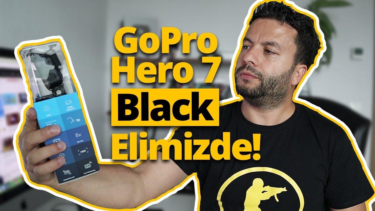 GoPro Hero 7 Black kutusundan çıkıyor! - En iyi aksiyon kamerası elimizde!