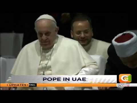 Pope in UAE