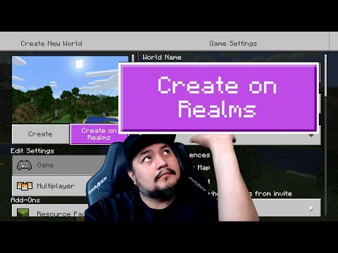 How To Create A Minecraft Realm   How To Make A Minecraft Realm