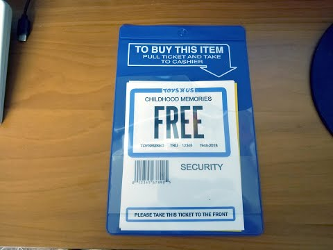 Nostalgia Mall Quickie: Toys R Us Ticket Reproductions