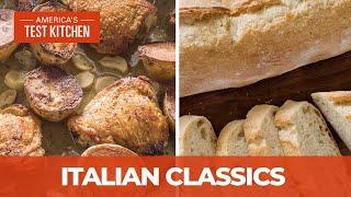How To Make Italian Comfort Classics Like Pane Francese And Chicken Vesuvio Youtube
