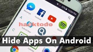 Hidden app how to find in telugu ?