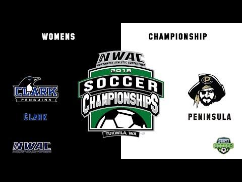 NWAC Womens Championship Soccer Clark - Peninsula