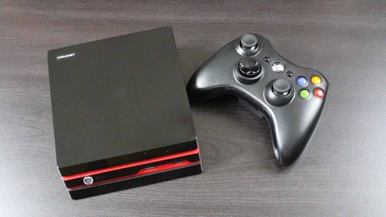 600 in 1 (Mini PS4 Clone) Coolbaby RS-93 (Review)