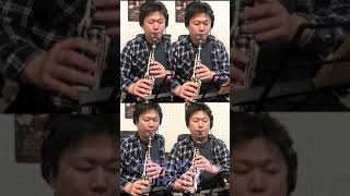 JR東日本の発車メロディをクラリネット演奏#Shorts