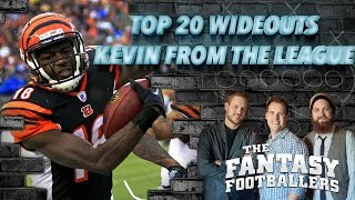 Top 20 Wide Receivers, Steve Rannazzisi from The League - The Fantasy Footballers