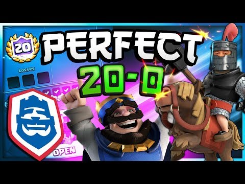PERFECT 20-0! #1 DECK in CRL challenge — Clash Royale