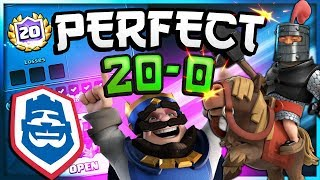 PERFECT 20-0! #1 DECK in CRL challenge - Clash Royale