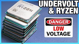 AMD Ryzen 3000 Undervolting Offset vs. Override | Vcore Voltage