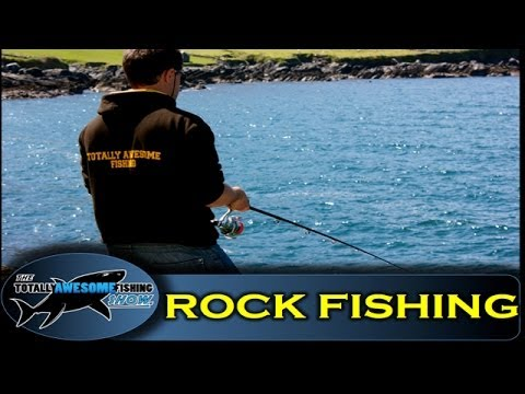 Rock Fishing On Dursey Island - The Totally Awesome Fishing Show