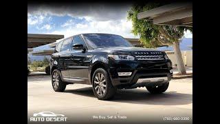 2016 Land Rover Range Rover Sport 4WD 4dr V6 HSE (Palm Desert, California)