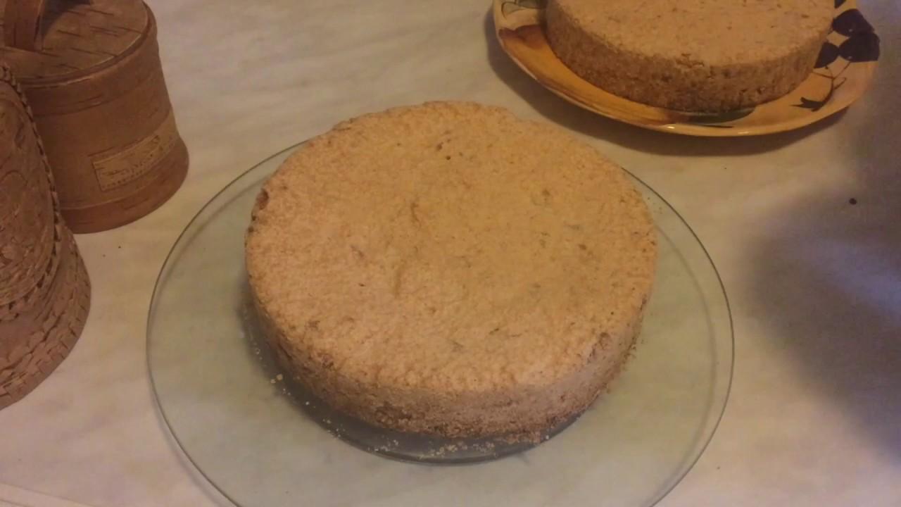 кулинар кулинарыч- киевский торт - пошаговый рецепт