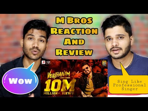 bigil---verithanam-lyric-video-song-reaction-(tamil)-|-thalapathy-vijay,-nayanthara-|-a.r-rahman