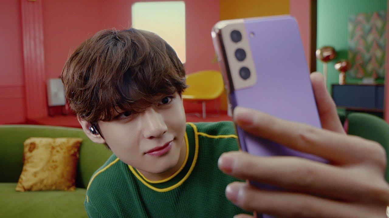 Galaxy S21 con BTS | Selfies sorprendentes