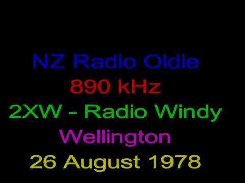 NZ Radio - Oldie - Radio Windy - 2XW - 890 kHz - Wellington - 26 August 1978