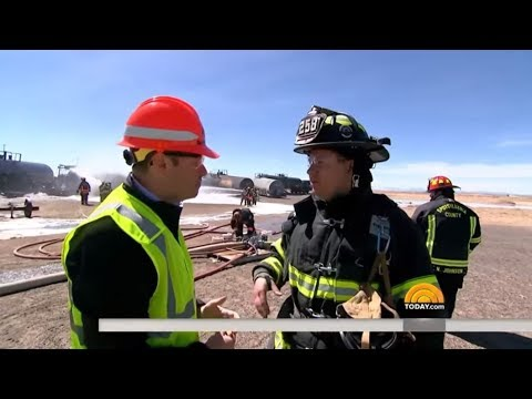 TODAY Show Jeff Rossen & Freight Rail Safety Training