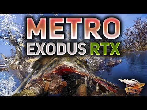 Metro Exodus RTX ON - Волга - Прохождение на харде - Часть 1