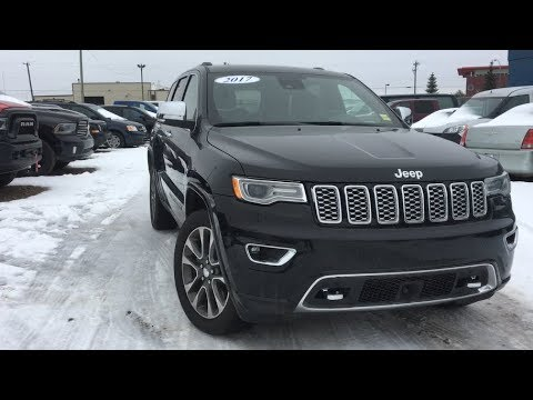 2017 Jeep Grand Cherokee Overland   P11751A   5.7L HEMI V8   Edmonton,AB   Crosstown CDJR