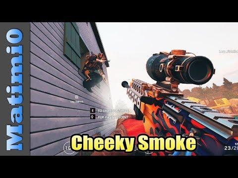 Cheeky Smoke - Rainbow Six Siege