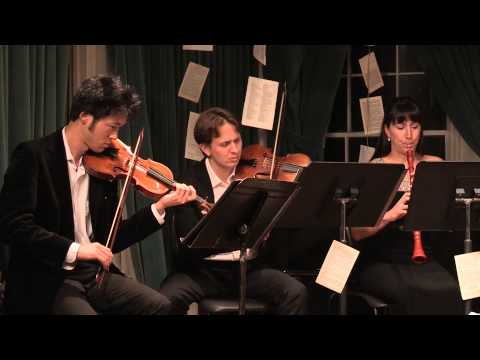 New Vintage Baroque Live in Concert at Greenwich House Music School, NY